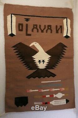 Antique Vintage American Indian Navajo Rugs Germantown Pictorial Dazzler's