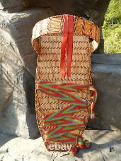 Antique Vintage California Mono / Kawaiisu Indian Full Size Cradleboard A+++++