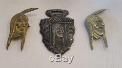 Antique/Vintage Indian Motorcycle Pins and Watch Fob FREE SHIPPING