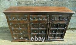 Antique/Vintage Indian Sheesham Wood Sideboard dramatic gothic style