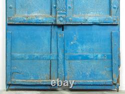 Antique Vintage Indian Worn Paint Wooden Door MILL-562