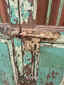 Antique Vintage Industrial Jali Doors indian wooden doors