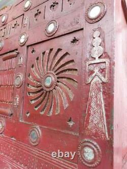 Early 20th Century Indian Dowry Chest. Antique/Vintage/Marriage Chest
