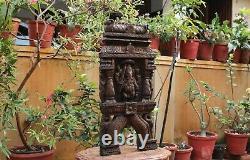 Ganesha Statue Wall Panel Sculpture Ganesh Kavadi Temple Vintage Home Decor Rare