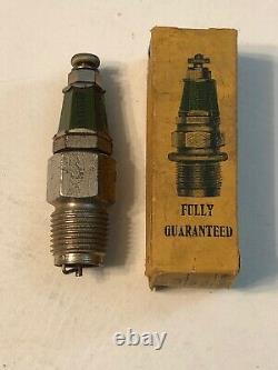 NOS 1/2 Splitdorf Vintage Antique Motorcycle Spark Plug Indian Excelsior Thor