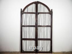 Pair of Large Antique Vintage Indian Garden Gates Doors MILL-908/1