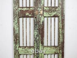 Pair of Vintage Rustic Indian Hardwood Garden Gate Doors (MILL 872/18)