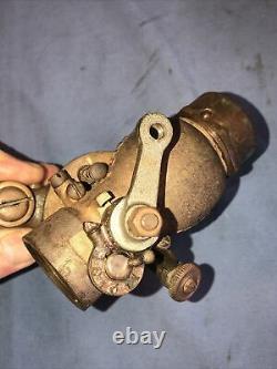 Schebler Vintage Antique Motorcycle Carburetor Harley Davidson Indian Excelsior