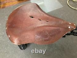 TROXEL vintage antique reproduction motorcycle seat amca Harley Indian henderson