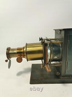 Vintage Antique Early 20th Century Indian Magic lantern projector