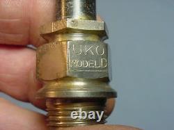 Vintage Antique UKO Model D 18mm Mica Motorcycle Spark Plugs Indian Excelsior