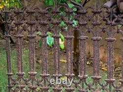 Vintage Handmade British Architectural Rustic Air Interlocking Grill Window Jali