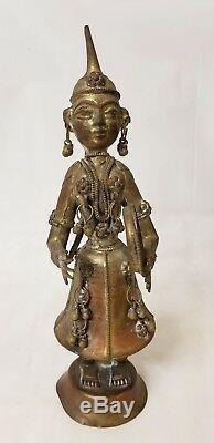 Vintage India Metal Musician Figures
