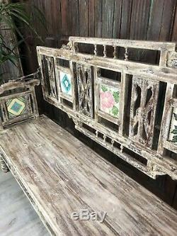 Vintage Indian Bench / Seat