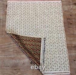 Vintage Indian Brocade Silk &metal Pictorial Textile