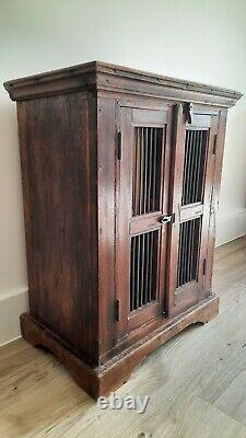 Vintage Indian Cabinet, Display Cabinet, Vintage Furniture, Antique Cupboard