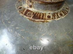 Vintage Indian Metal Riveted Water Pot Bowl