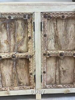 Vintage Indian Old Doors Sideboard
