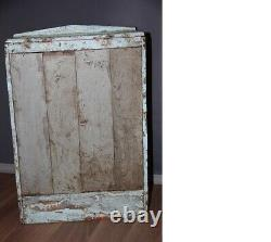 Vintage Indian Painted Small Glazed Wooden Display Cabinet / Cupboard. Fabulous