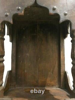 Vintage Indian Temple Shrine Puja Temple shape Antique Unique Hand Made