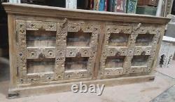 Vintage Indian doors sideboard