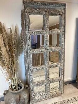 Vintage Indian tall door mirror