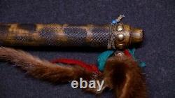 Vintage Native American Plains Indian Belt Tomahawk