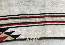 Vintage Navajo Indian Blanket Old Indian Saddle Blanket Old Navajo Rug Antique