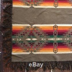 Vintage Pendleton Antique Trade Blanket 1920s Third Label 1921 Wool Indian 65x67