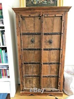 Vintage/ Reclaimed INdian Hardwood cupboard