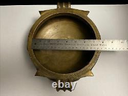 Vintage South Indian Brass or Bronze URLI 9/22cm Cooking Vessel
