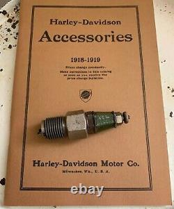 1 / 2 Splitdorf Vintage Antique Motorcycle Spark Plug Harley Indian Excelsior