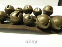 Antique C 1890s / Vintage Kiowa Oklahoma Indian Harness Leather Bells