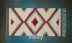 Antique Old Vtg Navajo Tapis De Selle Couverture Très Agréable Amérindien Cond