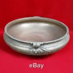 Antique Urli Brass Uruli Navire Vintage Vastu Main Bowl Home Decor Domaine Du Royaume-uni