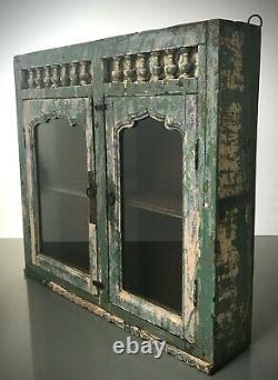 Antique Vintage Art Indien Déco Affichage Salle De Bains Cabinet De Cuisine. Jade & Vanilla