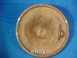 Antique Vintage Indian Chief Eathenware Wall Plaque Austrian Pottery Jm Maresch