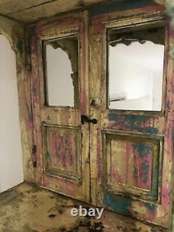 Antique Vintage Indian Wooden Home Hindu Temple/shrine/altar Mandir Grand Rare