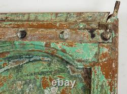Antique Vintage Indian Worn Peinture En Bois Porte Mill-573