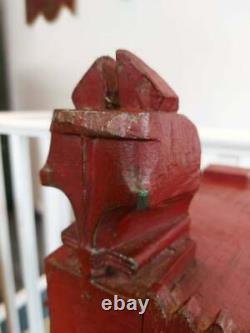 Au Début Du 20e Siècle, La Poitrine De Dot Indienne. Antique/vintage/marriage Poitrine