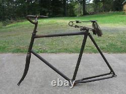 Avant La Guerre Pre 1900 Cadre De Vélo Vintage Antique Indian Pope Harley Rambler