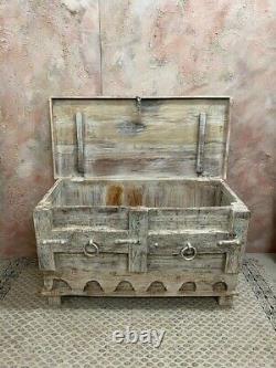 Boîte De Stockage Indienne Vintage