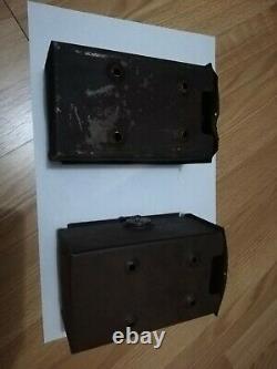 Boîtes À Outils De Batterie D'origine Antique Vintage Indian Powerplus (2)