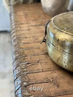 Damchyie Indienne Vintage/boîte De Stockage