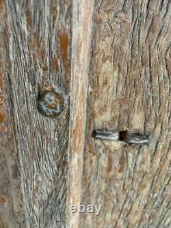 Fenêtre Ou Portes En Bois Vintage Antique Bois Dur Indien 95x65 CM