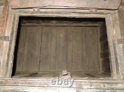 Grand Véritable Vintage Indian Dowry Lift LID Storage / Chest Circa 1920s W153cm