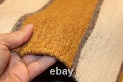 Indien Américain Navajo Rug Vintage Authentic Hand Woven