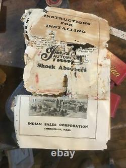 Original Indian Automobile Shock Absorbers Barn Frais! Non, C'est Pas Vrai! Avec Boîte Et Papier