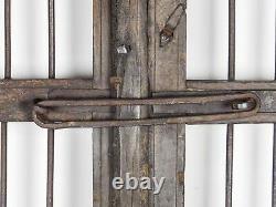 Paire De Portes De Jardin Indien Vintage Mill-908/1