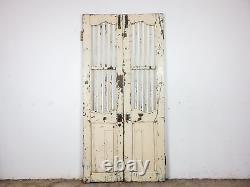 Paire De Portes De Porte De Jardin Indiennes Rustiques De Cru (mill 872/14)